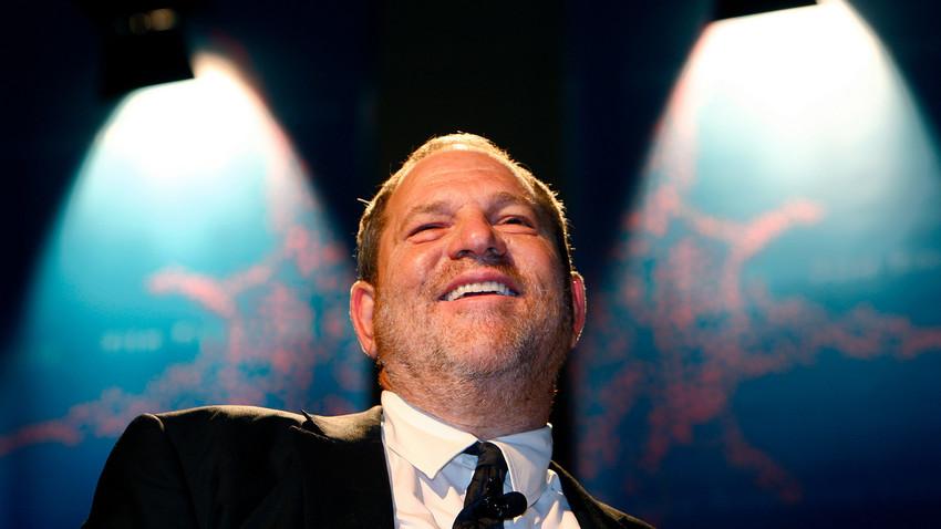 Harvey Weinstein, ex-presidente dos estúdios de cinema Weinstein Company, que caiu em desgraça após diversas acusações de estupro e assédio sexual.