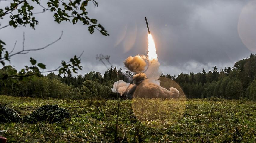 """Тестирање ракете """"Искандер-М"""". Запад-2017."""