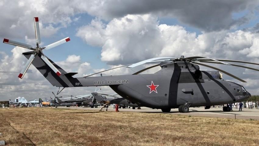Helikopter Mi-26, ki bo služil kot osnova za novo, posodobljeno različico.