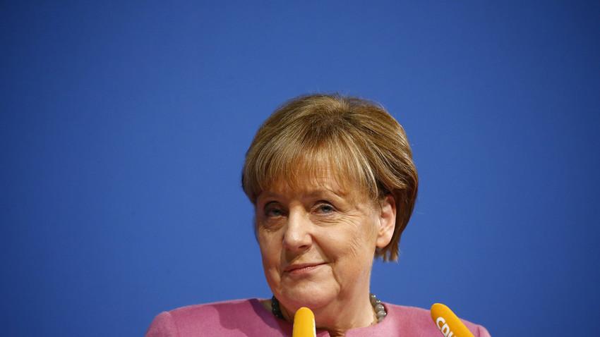 アンゲラ・メルケル・ドイツ連邦共和国首相。