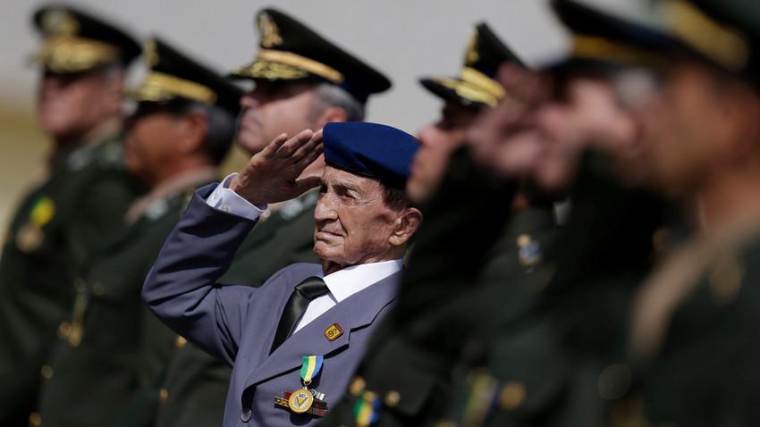 Com delegação de quatro pessoas, veteranos brasileiros participarão do Quatro Encontro Internacional de Veteranos em Moscou, que acontece entre 17 e 19 de novembro.