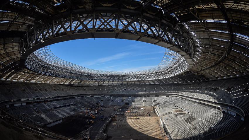 Lo stadio Luzhniki di Mosca