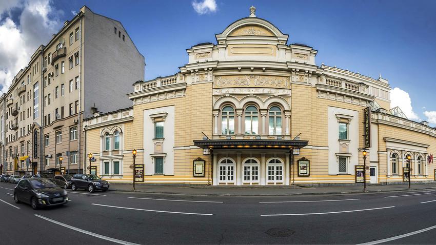 Das Malyj-Theater auf der Bolschaja-Ordynka-Straße in Moskau