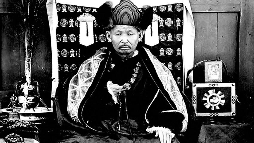 Der Lama Daschi-Dorscho Itigelow
