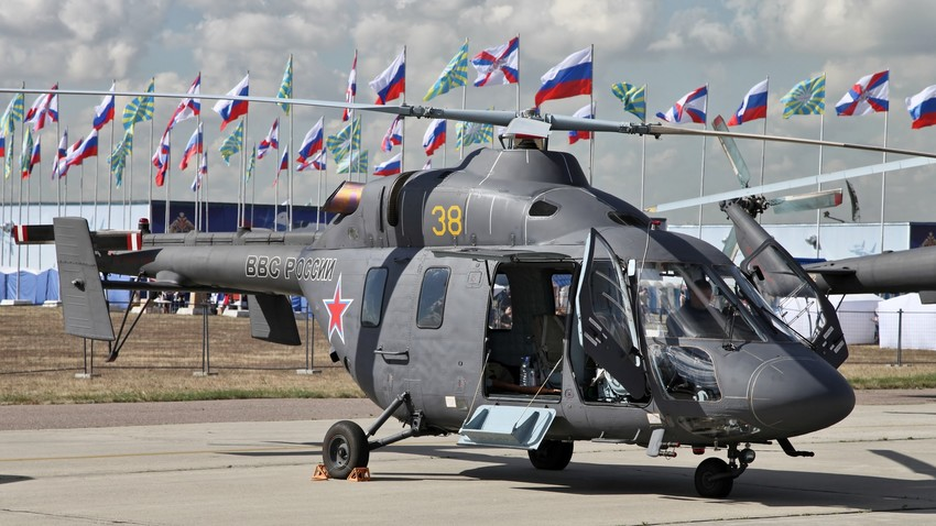 Helicóptero ruso 'Ansat'.