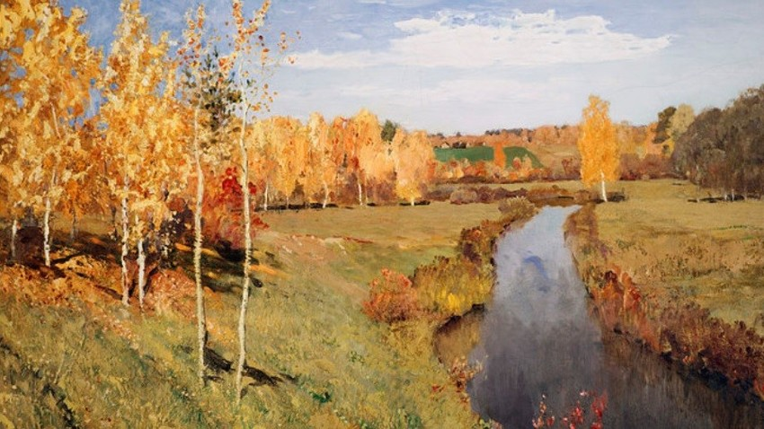 Isak Levitan: Zlata jesen (1895)