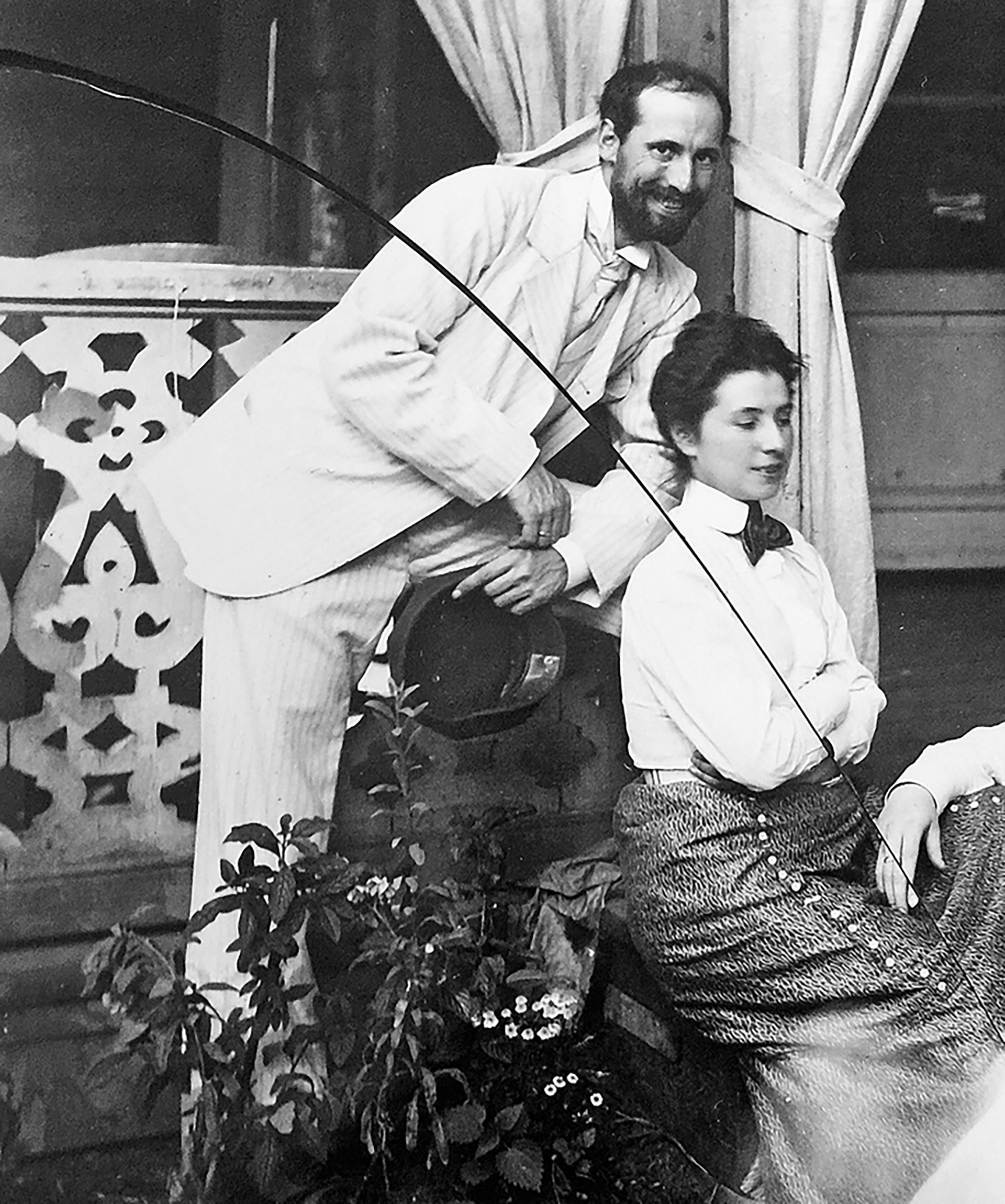 Joseph et  Mathilde Kchessinski.