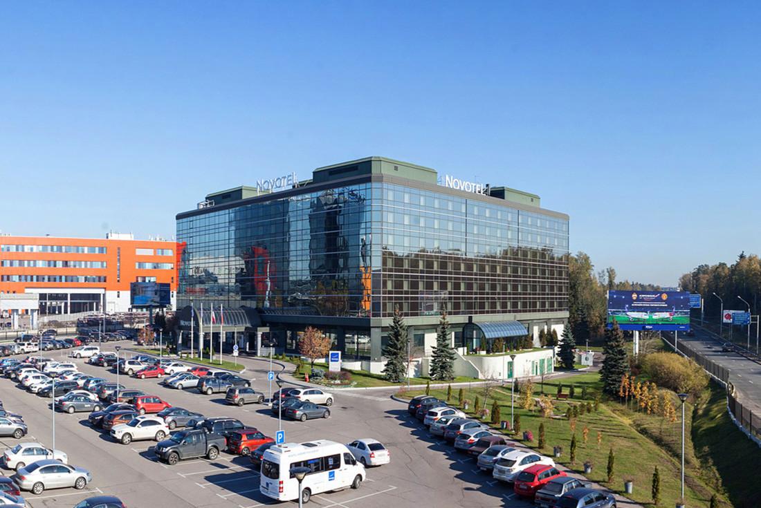 Sheremêtievo tem até mesmo um hotel em cápsulas.