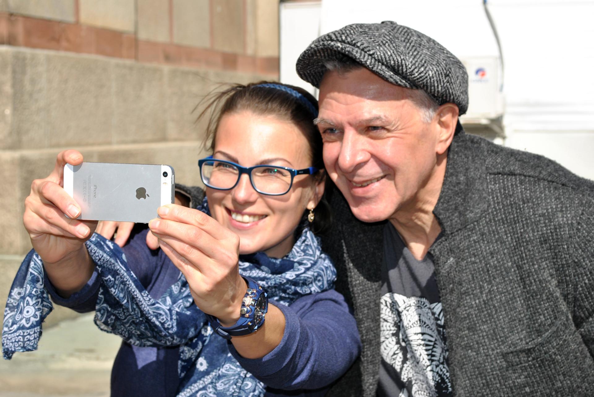 Катарина Лане и Андреј Ургант