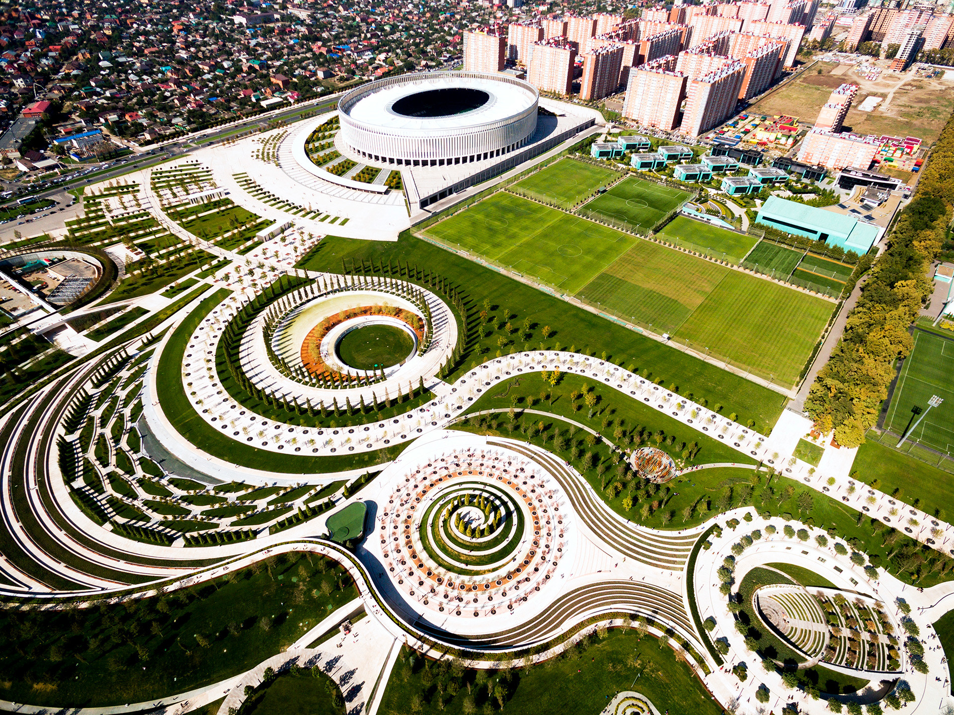 The Pictures Of This Stunning Park Will Make You Want To Move To Krasnodar Russia Beyond