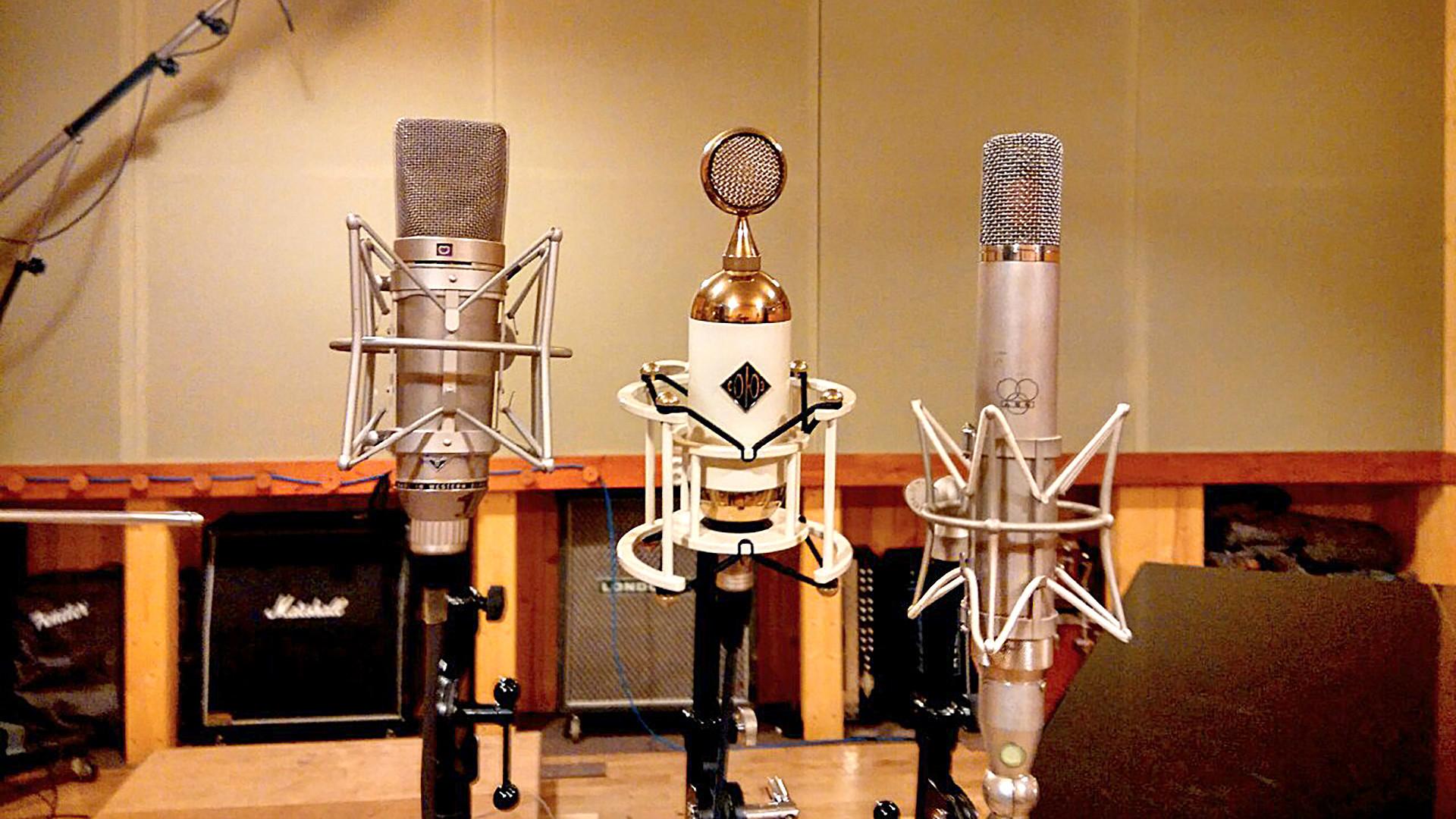 The company's customers include Grammy award-winning producers like Nigel Godrich, Justin Meldal-Johnsen, and Ryan Hewitt.