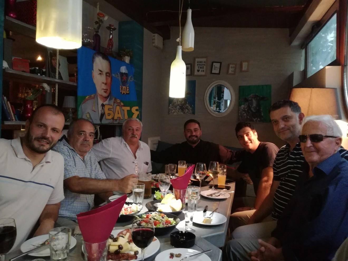 Сусрет са представницима ветерана 63. падобранске бригаде и организације бораца НОР-а у Тивту