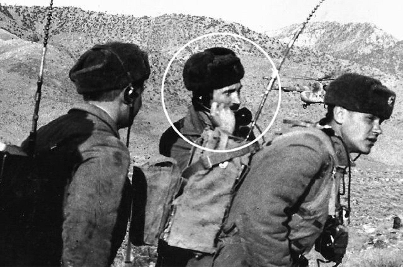 Александар Салујанов у Авганистанском рату