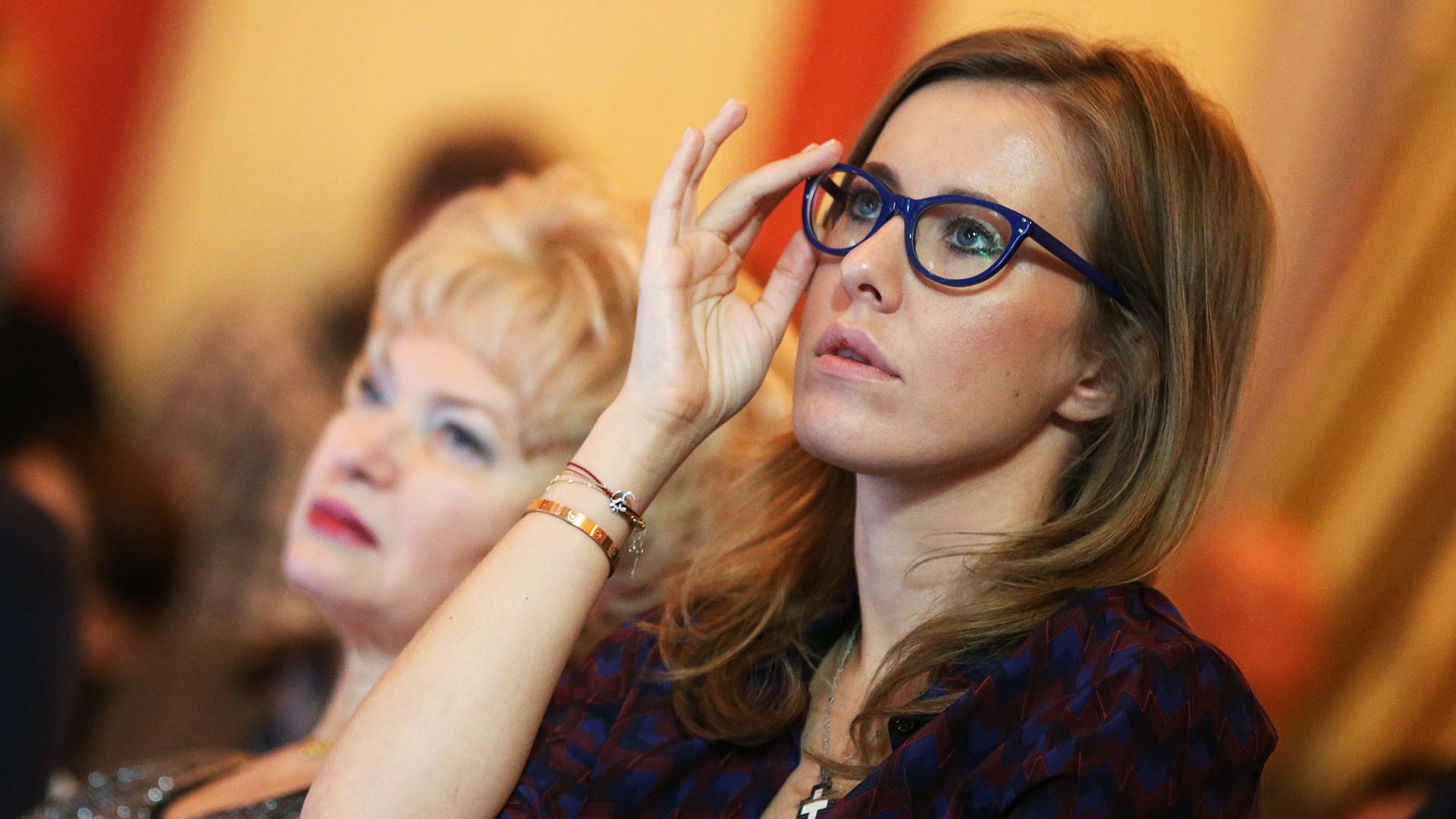 Ksenia Sobchak.