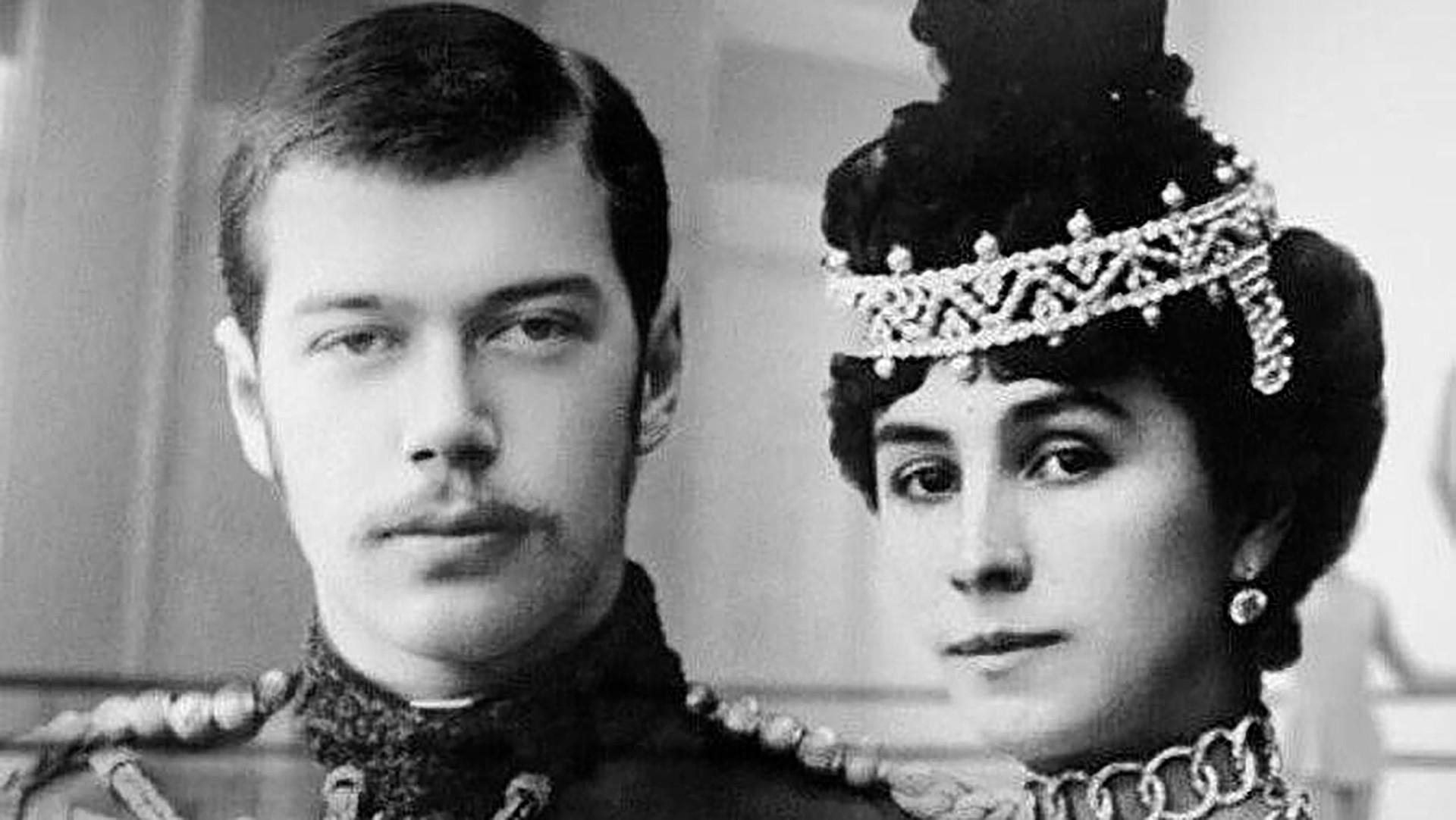 Lo zar Nicola II e la ballerina Matilda Kshesinskaja
