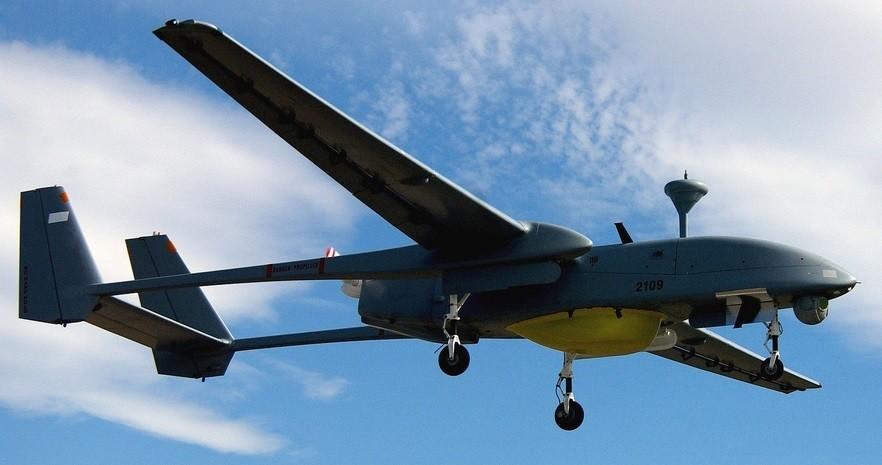 Brezpilotno letalo Heron izraelske izdelave.