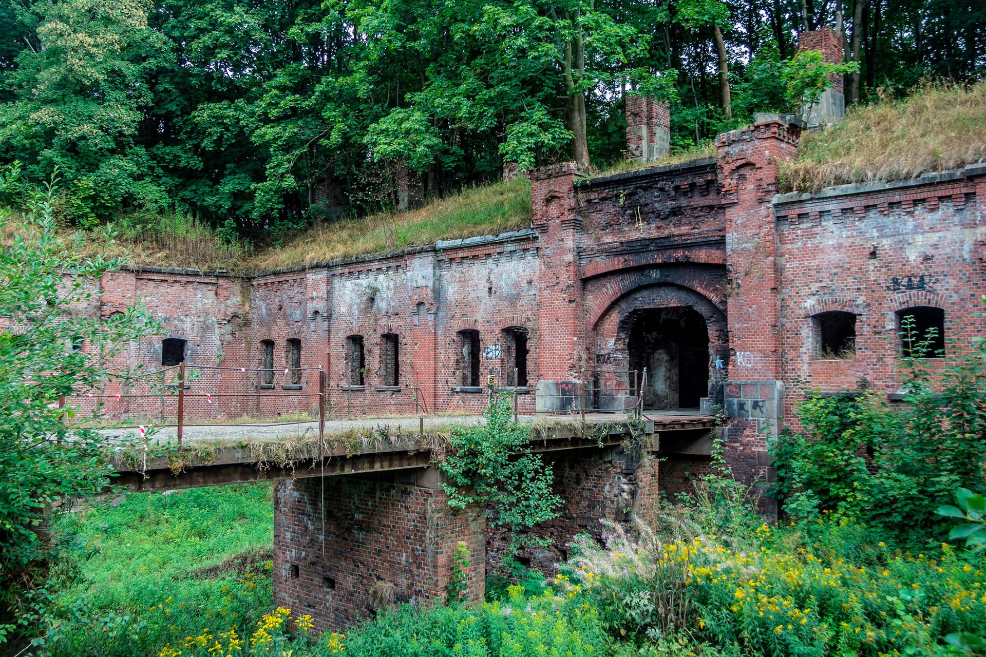 Zapuščena utrdba Kralj Friedrich Wilhelm III.