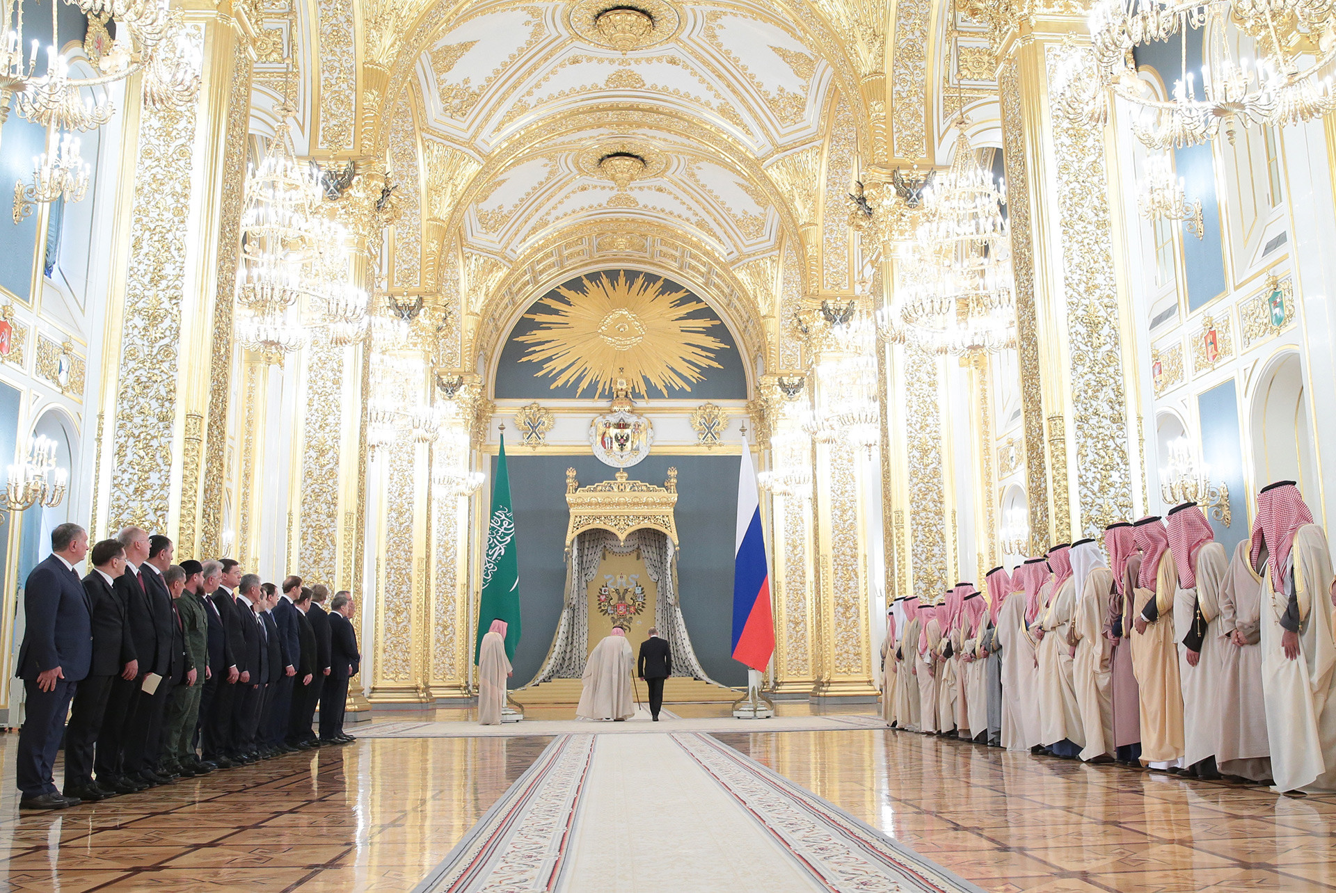 Andreyevsky hall of the Kremlin Palace