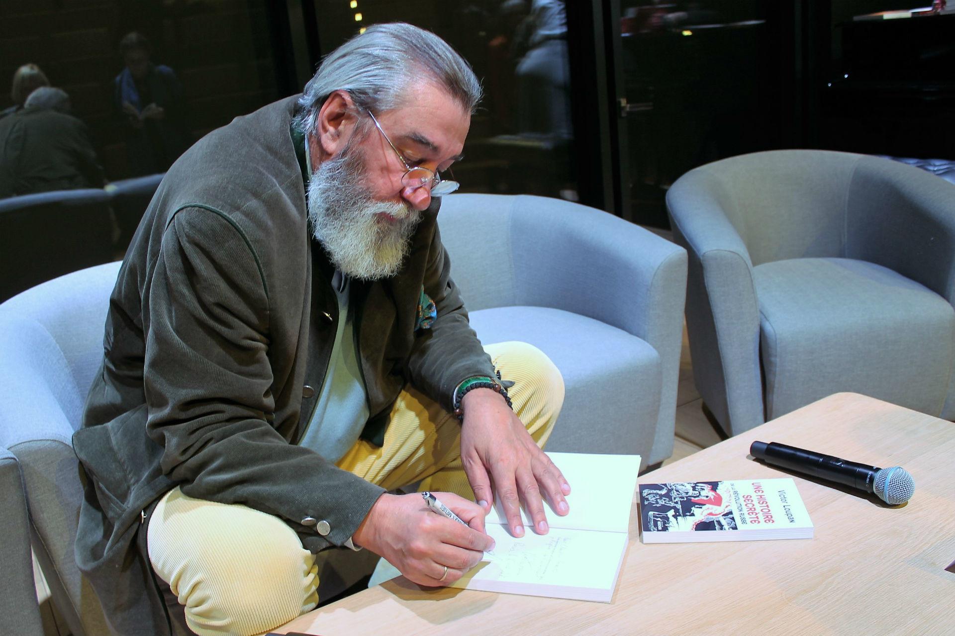 Victor Loupan, auteur du livre