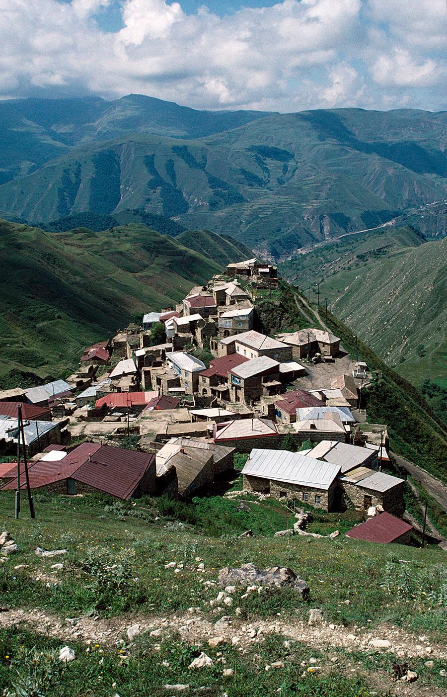 Dagestan Caravanserai di Jalur Sutra kuno.