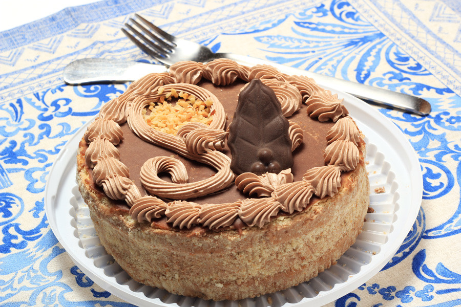 The Leningradsky cake.