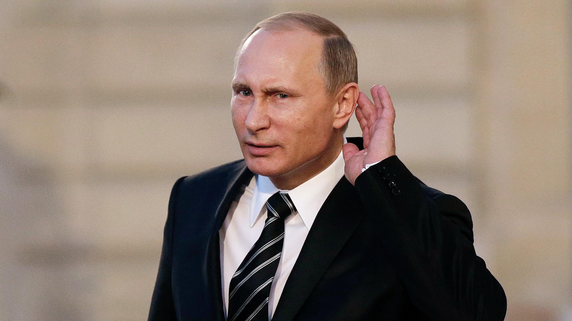 Vladímir Putin.