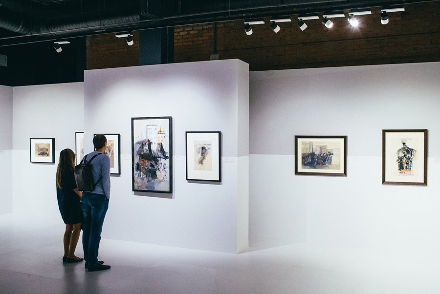 Mostra all'Istituto dell'Arte realista russa