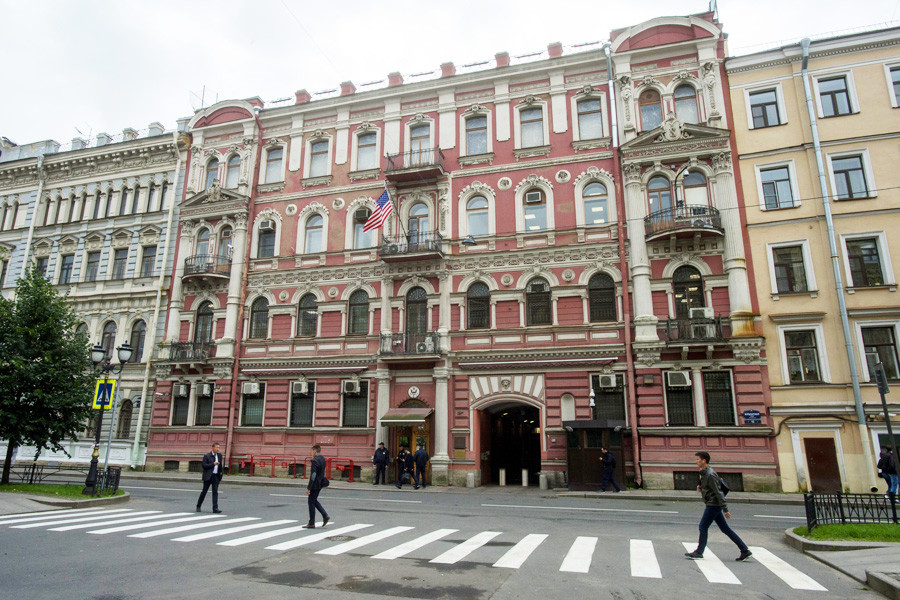 US Consulate General in St. Petersburg.