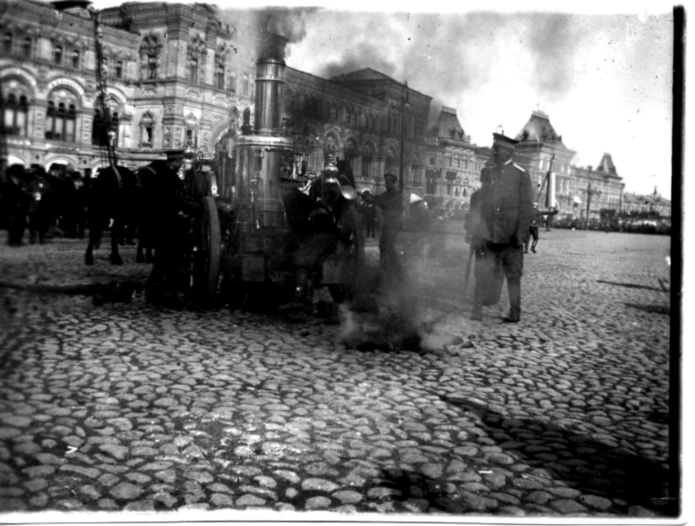 赤の広場、1909〜1916年代。