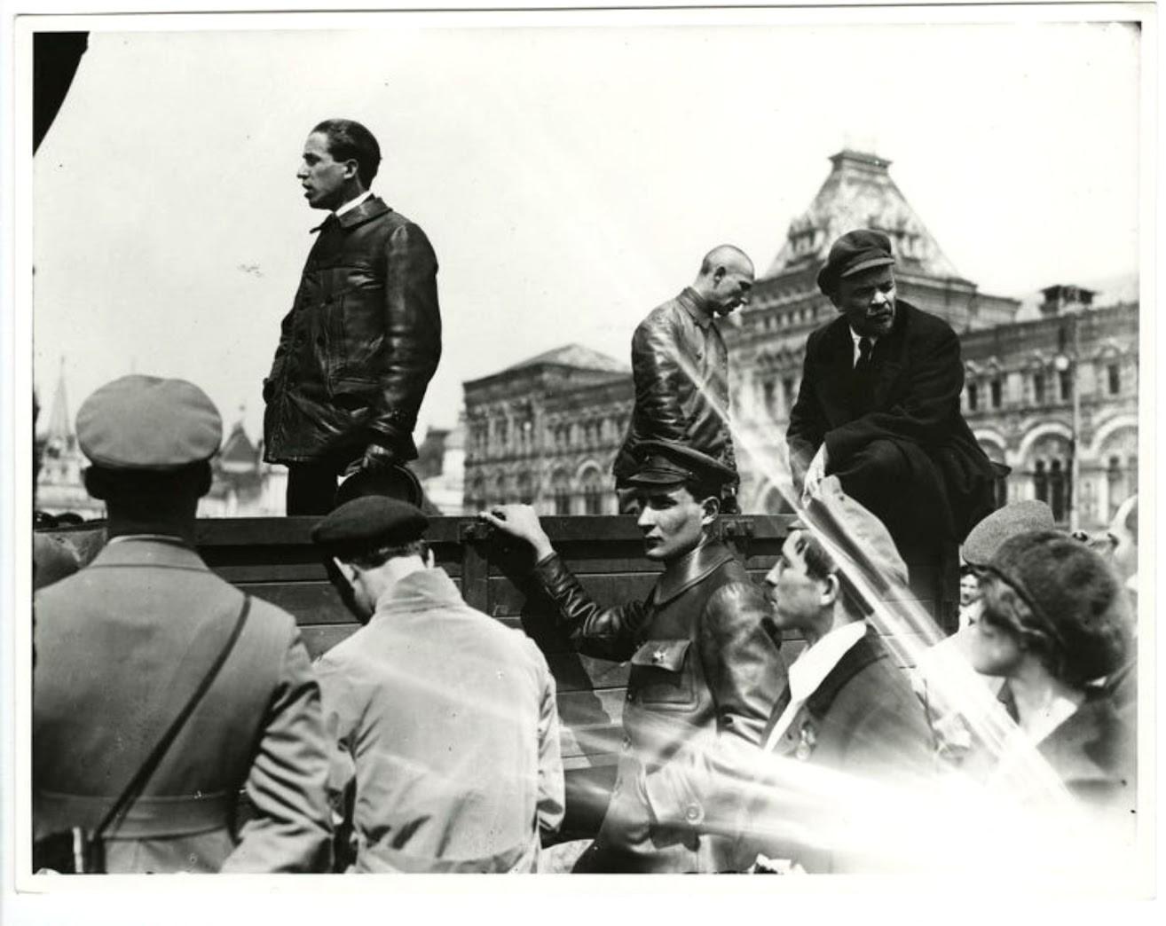 赤の広場、1919年5月25日。