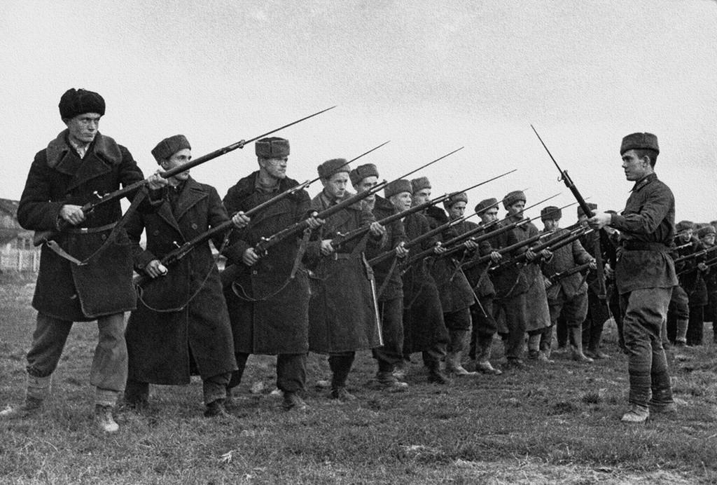 Доброволци от Народното опълчение, 1-ви батальон на Московския комунистически полк