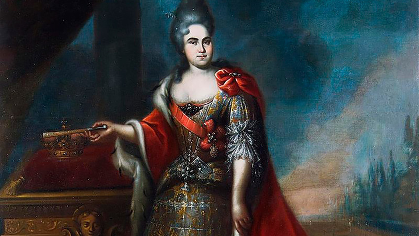 Catherine I, the Russian empress in 1725-1727