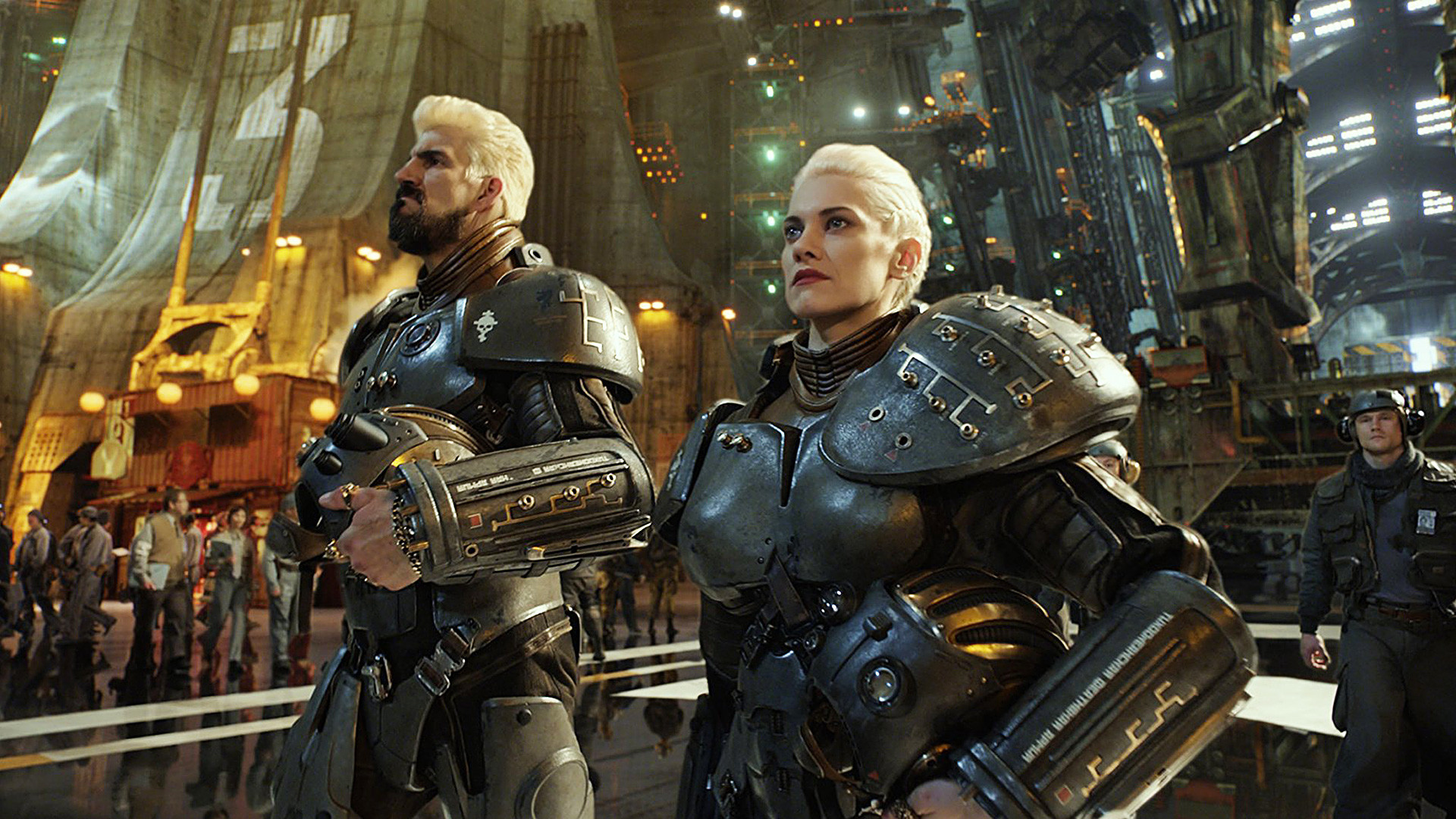 Alexis and Sasha Kaidanovsky, Pacific Rim (2013)