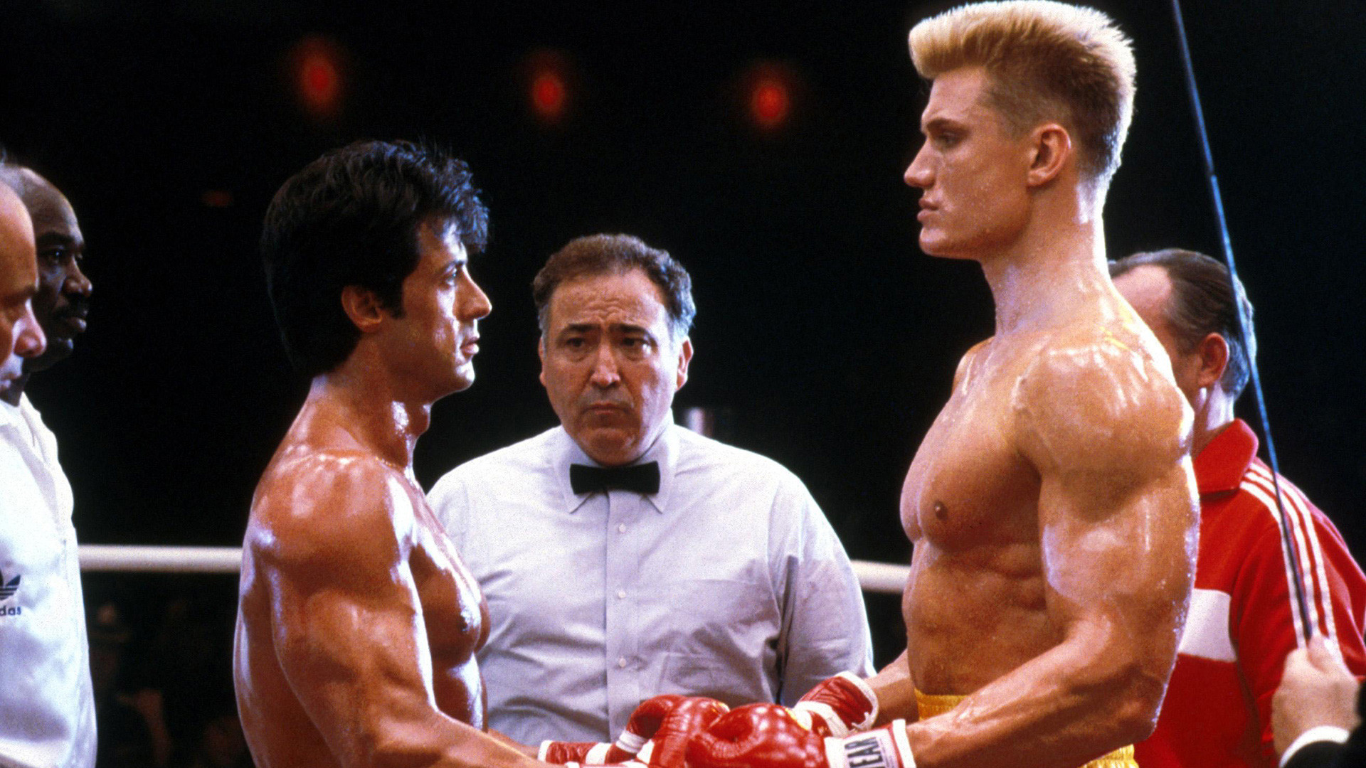 Ivan Drago (right), Rocky IV (1985)