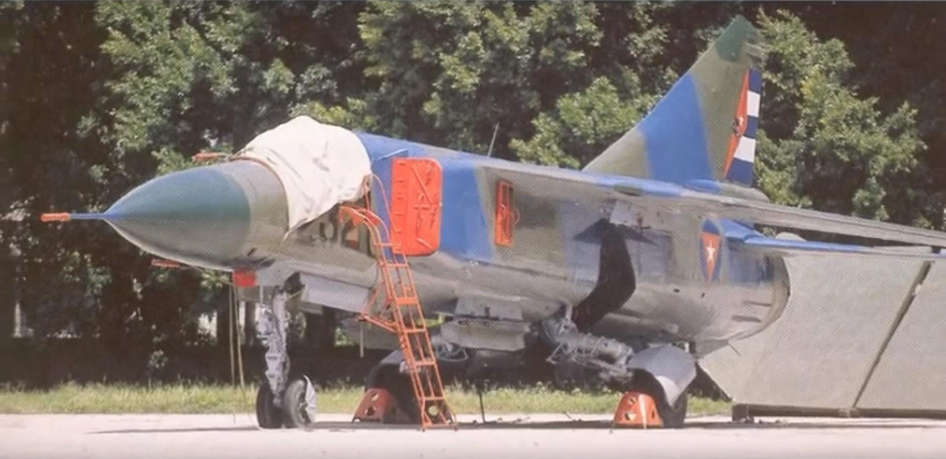 Um MiG-23 cubano.