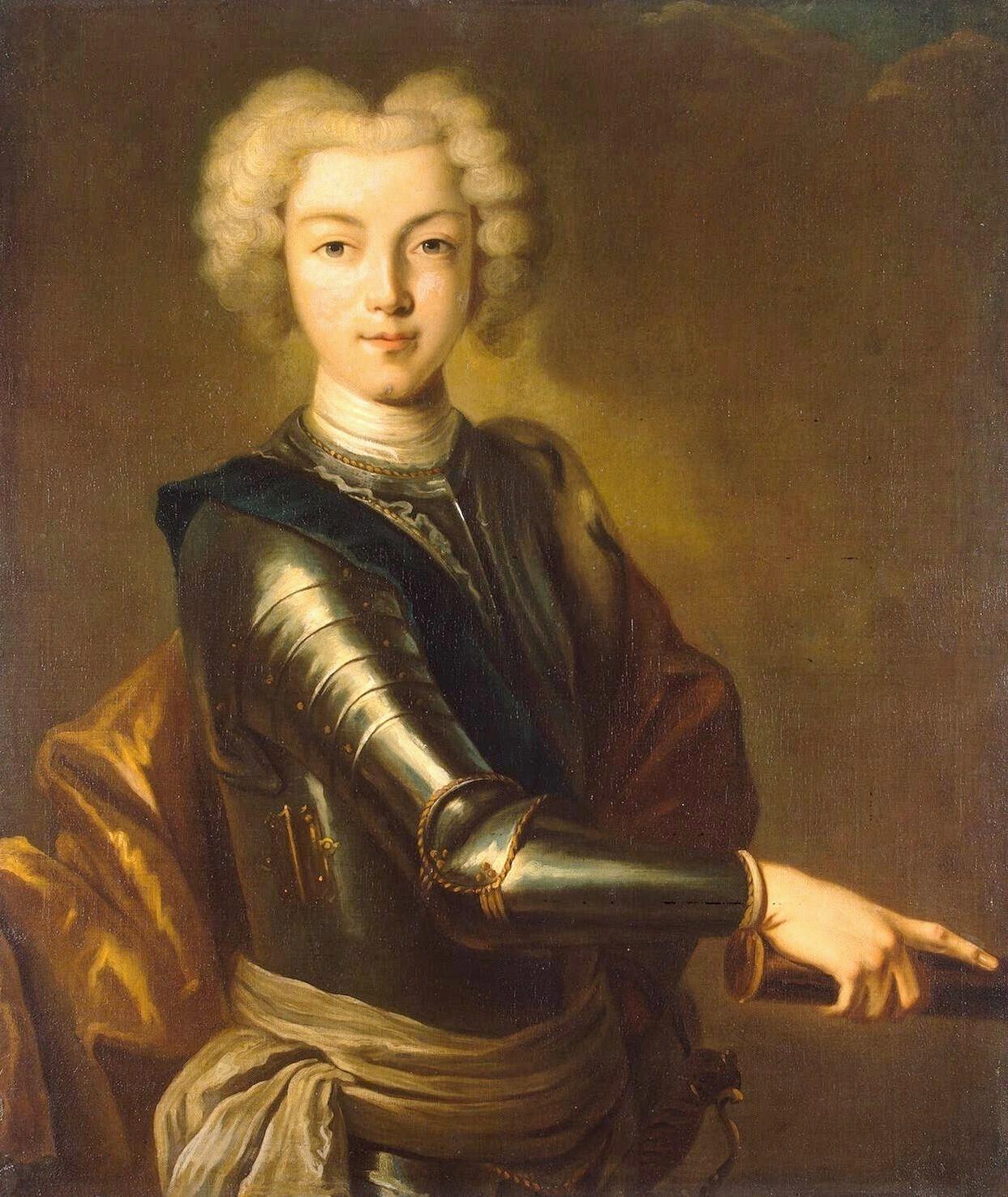 Портрет Петра II, рад непознатог уметника, око 1800. године