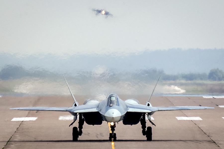 Un Su-57.