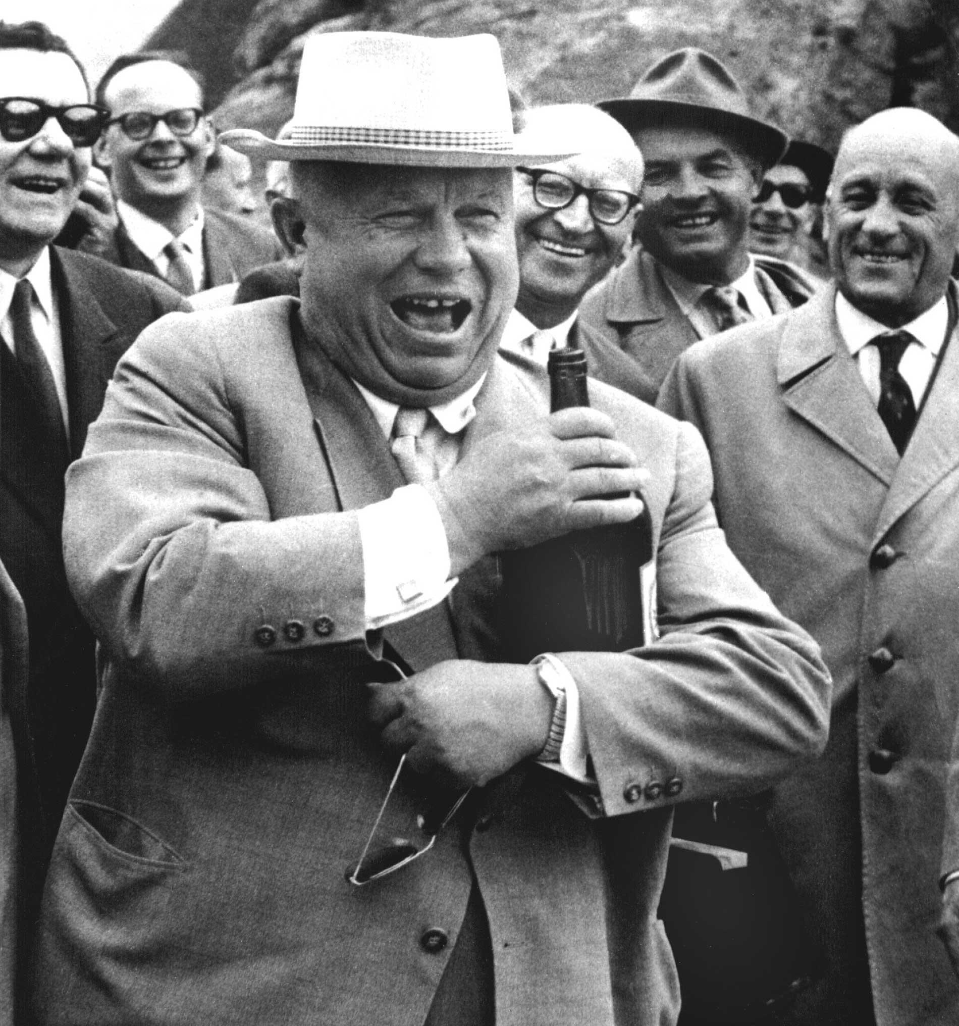 Nikita Khrushchev was far not a vegeterian