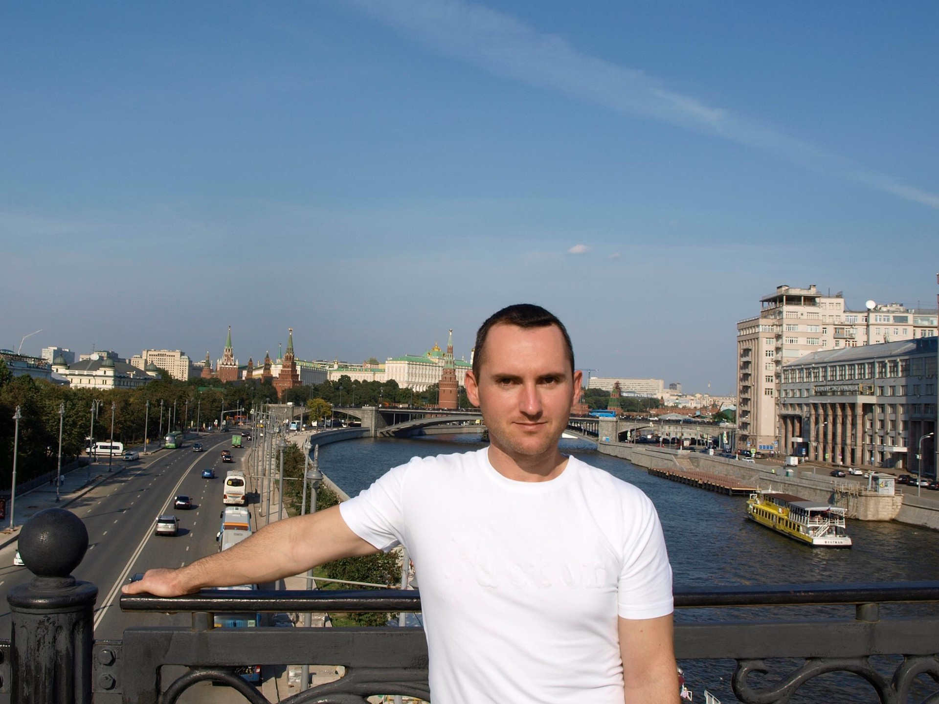 Иван Карафиловски у Москви