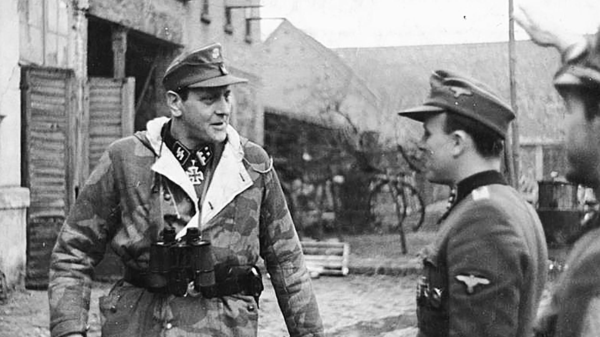 Obersturmbannführer Otto Skorzeny.