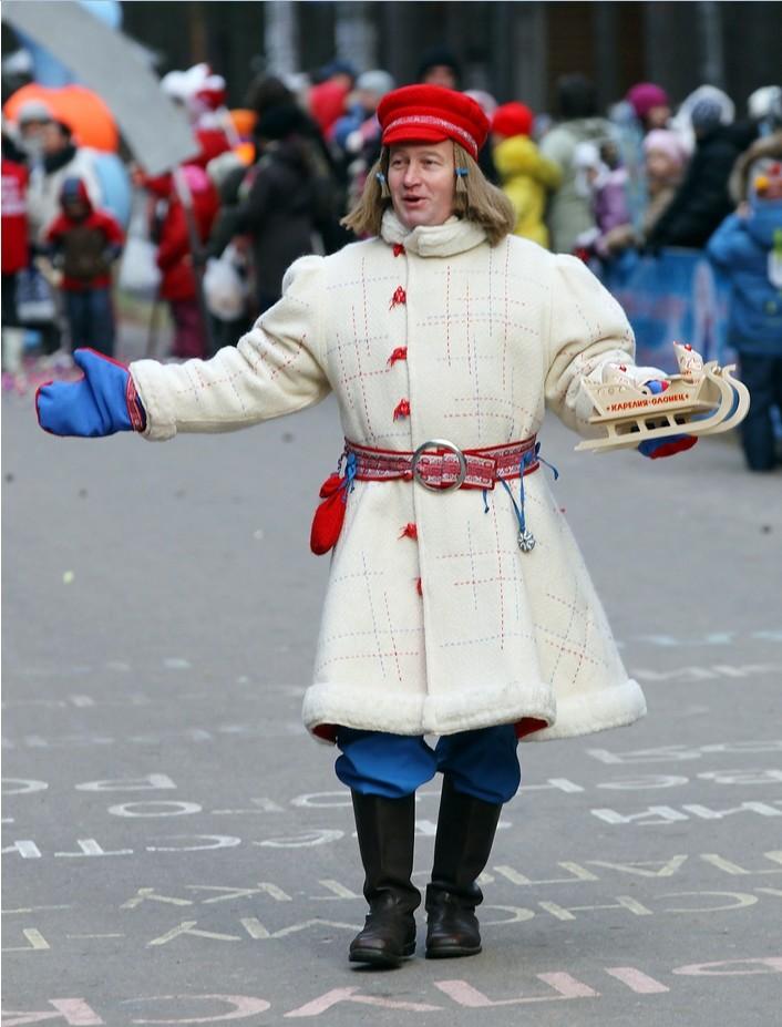 Karelijski Dedek Mraz.