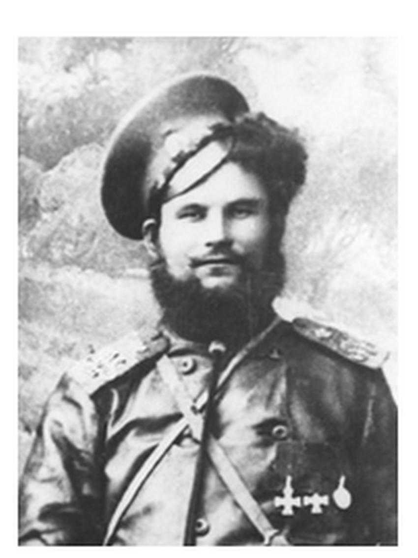 Kozak-boljševik Fjodor Podtolkov.
