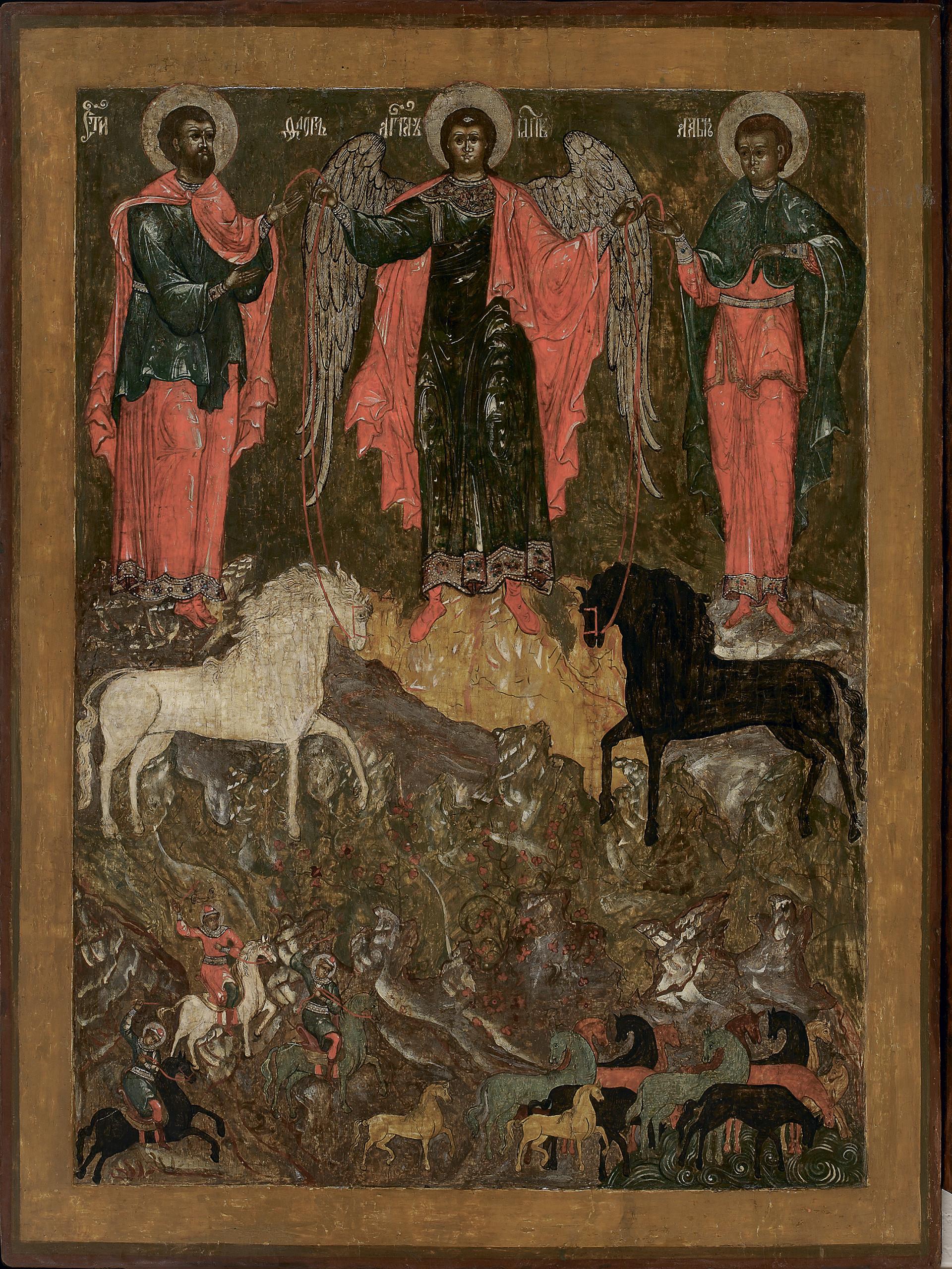 Il miracolo dell'Arcangelo Michele a Floro e Lauro
