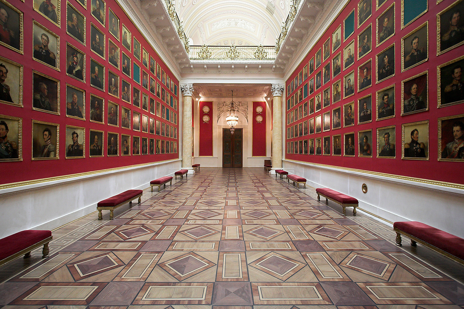 The State Hermitage Museum, St Petersburg.