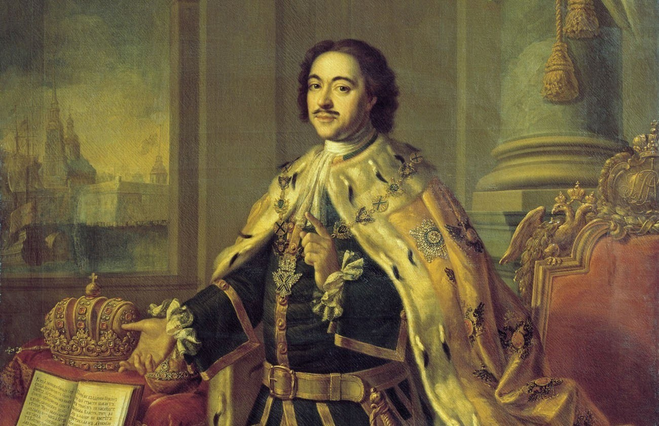 Petar I, Ermitaž