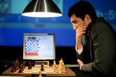 Wladimir Kramnik hielt den Weltmeistertitel von 2000 bis 20007