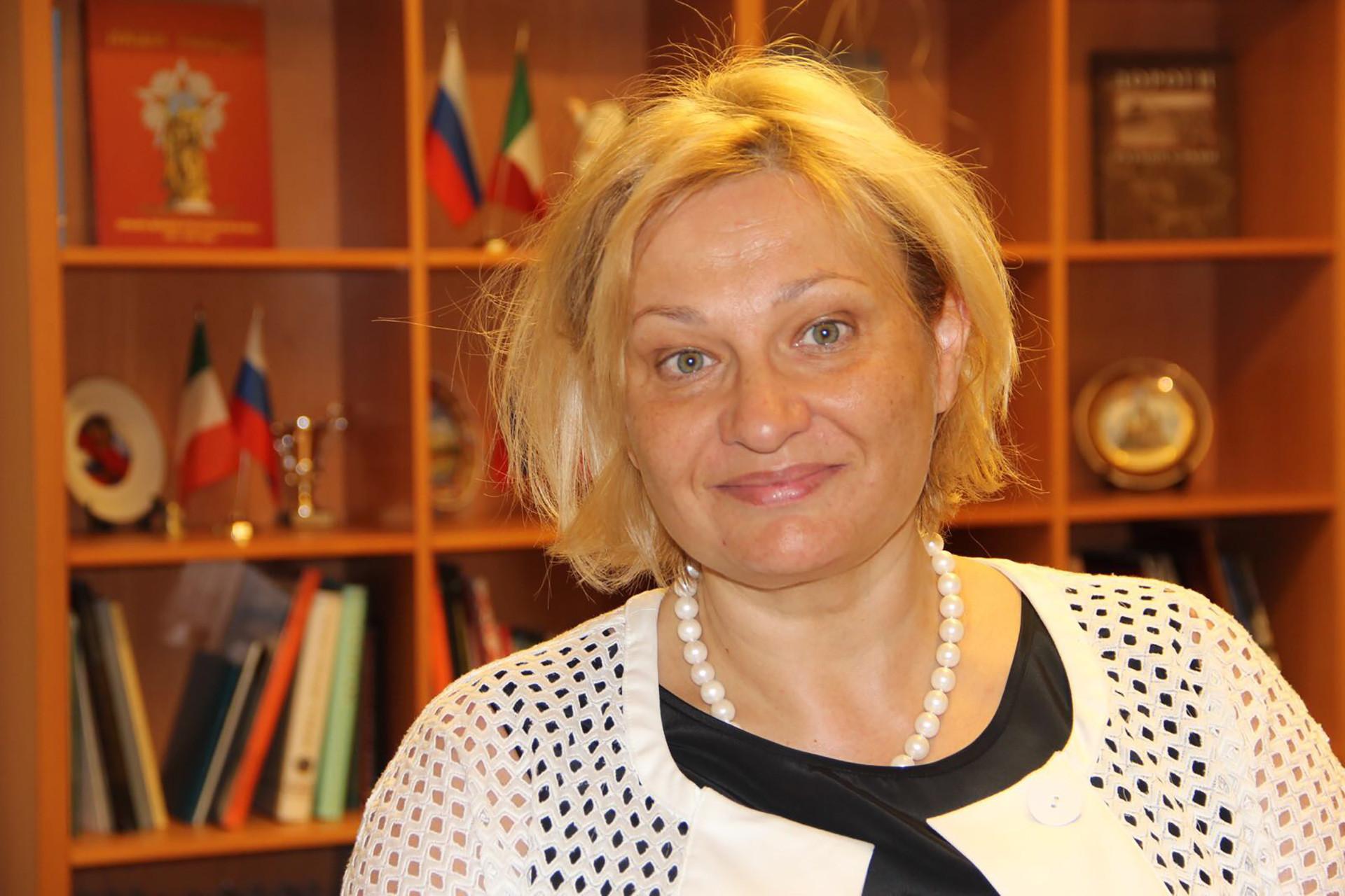 """Natalia Pereslavtseva, direttrice del Centro studi """"Nikolaj Gogol"""" di Roma"""