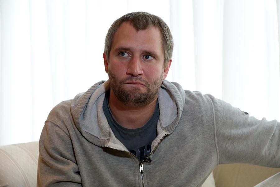 Yuri Bykov, film director.