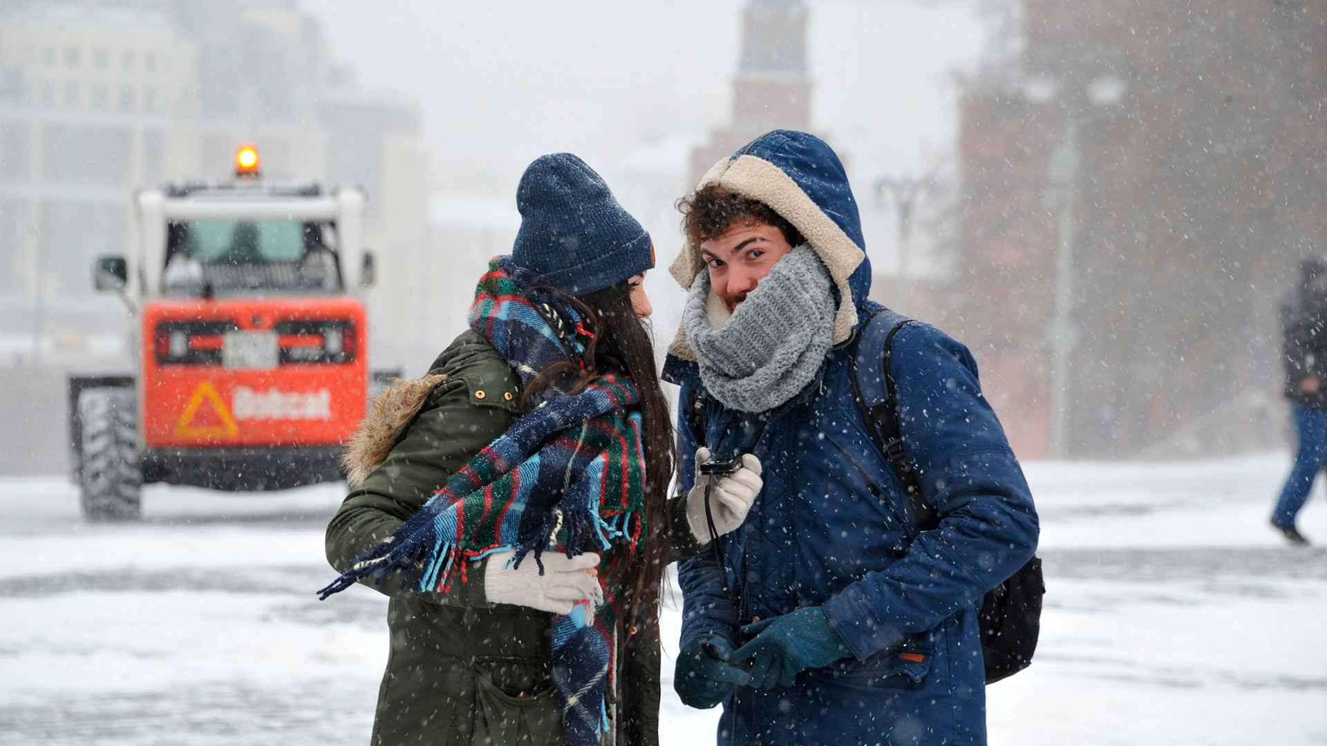 モスクワの冬