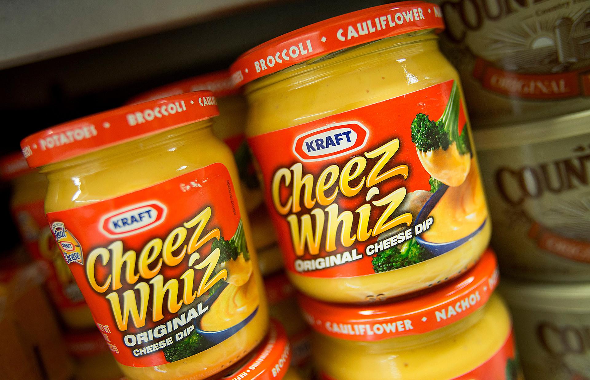 Cheez Whiz (сос од топљеног сира).